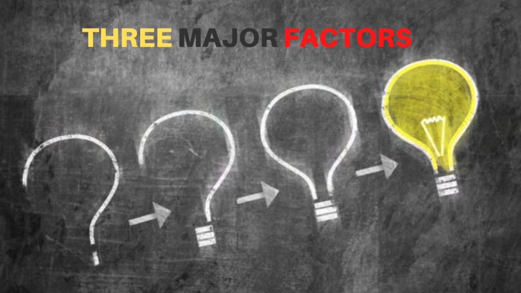 Three-major-factors